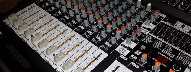 Professional event singers equipment